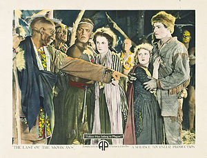 The Last of the Mohicans (1920 American film) - Lobby card