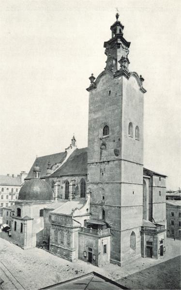 Plik:Latin cathedral lemberg old.png
