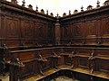 Lato sinistro del coro (mobilio) - Chiesa di San Domenico (Tocco da Casauria).jpg