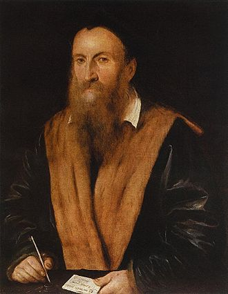 Romanino - Portrait of Romanino by Gambara.