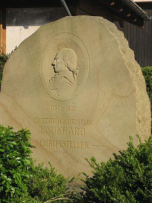 Friedrich Christian Laukhard - Laukhard Memorial Wendelsheim