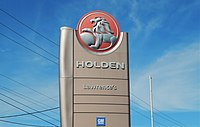 Lawrence's Holden sign.jpg