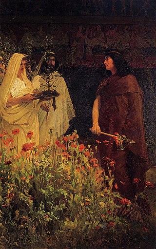 Laurence Alma Tadema, Tarquinio il Superbo