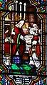Le Bugue - Église Saint-Sulpice - Vitrail de saint Marcel de Paris -02.jpg