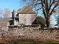 Le château de Dalmayracet son mur de clôture.JPG