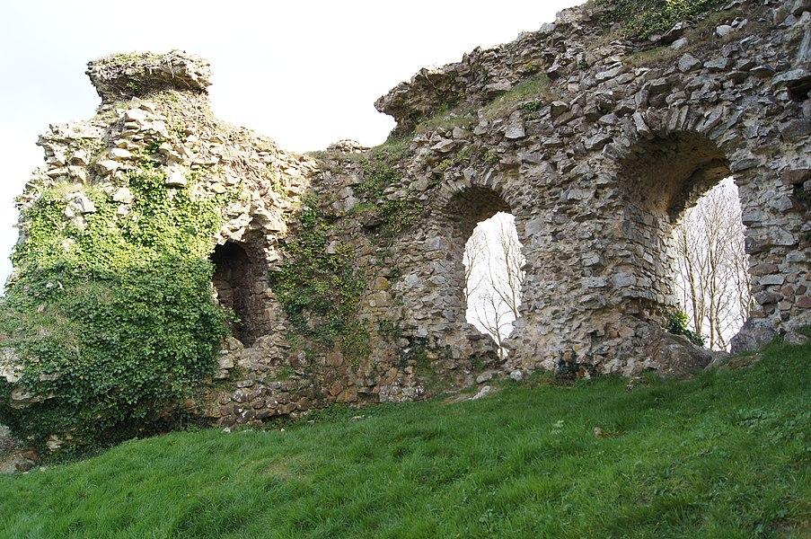 Le château ou vigie de Lithaire face nord