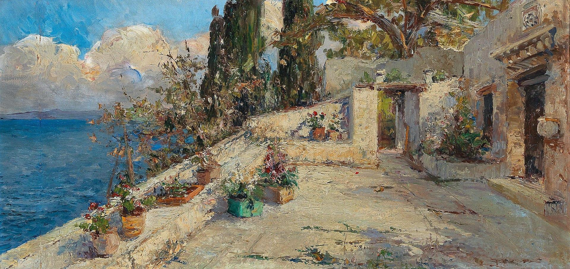 Леа фон Литтроу - Вид с terrace.jpg
