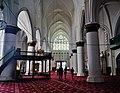 Lefkoşa Selimiye-Moschee (Sophienkathedrale) Innen Langhaus West 1.jpg