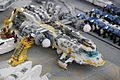 Lego Space Exploriens Spacecraft undergoing maintenance at the Moonbase Spaceport - Bricking Bavaria 2011 - Munich, Germany.jpg