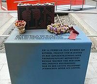 Leipzig Hbf Jewish Memorial 02.JPG