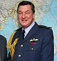 Les Aspin with Air Marshal Sir Peter Harding (cropped).jpg