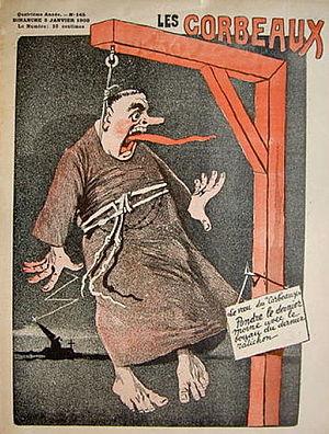 Didier Dubucq - Les Corbeaux, n°145, 5th January 1908.