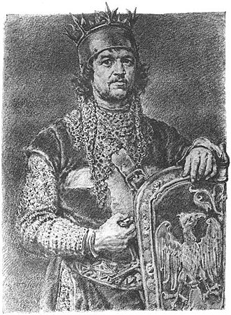 Leszek II the Black - 19th century portrait by Jan Matejko.