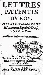 Académie Royale de Danse