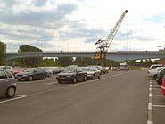 Leunabrücke Frankfurt Höchst
