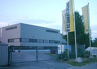 Liebherr Group - Image: Liebherr Hamburg Harburg 03