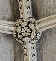 Lincoln Cathedral, Angel Choir Roof Boss, 11th from E. (24794479797).jpg