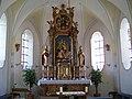 Linden Filialkirche Sankt Maria und Maternus Chorraum.jpg