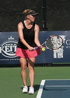 Lindsay Lee-Waters US tennis player