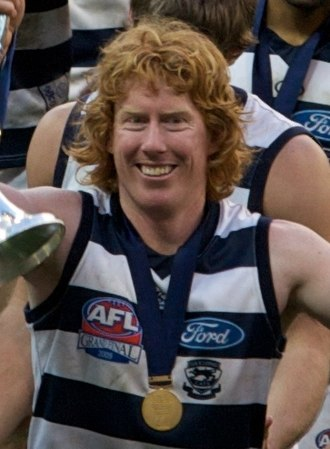 Cameron Ling - Ling pictured after the 2009 AFL Grand Final