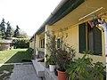 Listed dwelling building, veranda. - 7 Szapáry Street, Ófalu, Érd.JPG