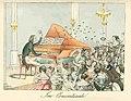 Liszt koncertteremben Theodor Hosemann 1842.jpg