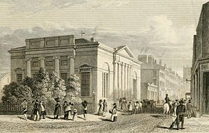 The Lyceum, Liverpool - Lyceum Newsroom and Library in 1828