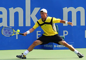 Lleyton Hewitt finished as No. 1 on the course of the year.