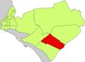 Localització de l'Aranjassa respecte del Districte de Llevant.png