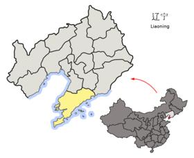 Localisation de Dalian