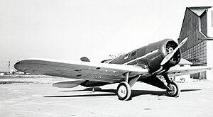 Lockheed Model 8 Sirius - Paul Mantz's Lockheed Sirius photo ship