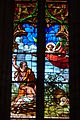 Lodève Saint-Fulcran cathedral stained glass window392.JPG