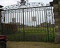 Lodge Park Sherborne ,Entrance gates - geograph.org.uk - 22579.jpg