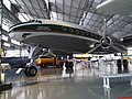 Lookheed Constellation - Fabricado de 1943 a 1958. Foram construídos ao todo 856 aparelhos em 4 modelos, todos com o mesmo design característico de golfinho. Este exemplar foi pintado em homenagem a Panai - panoramio.jpg
