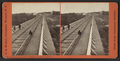 Looking across top of R.R. Bridge, Portage, N.Y., toward Depot, by Walker, L. E., 1826-1916.png