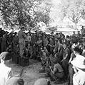 Lord Louis Mountbatten, Supreme Allied Commander South East Asia, addressing men of the 2nd Division near Sadaung, Burma, 20 January 1945. SE2203.jpg