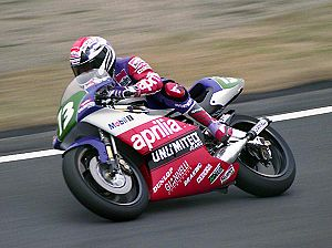 Loris Reggiani - Reggiani at the 1992 Japanese Grand Prix.