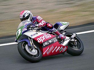 Loris Reggiani - Reggiani at the 1992 Japanese Grand Prix.