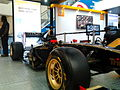Lotus-Renault F1 car in display at the Express Avenue Mall.jpg