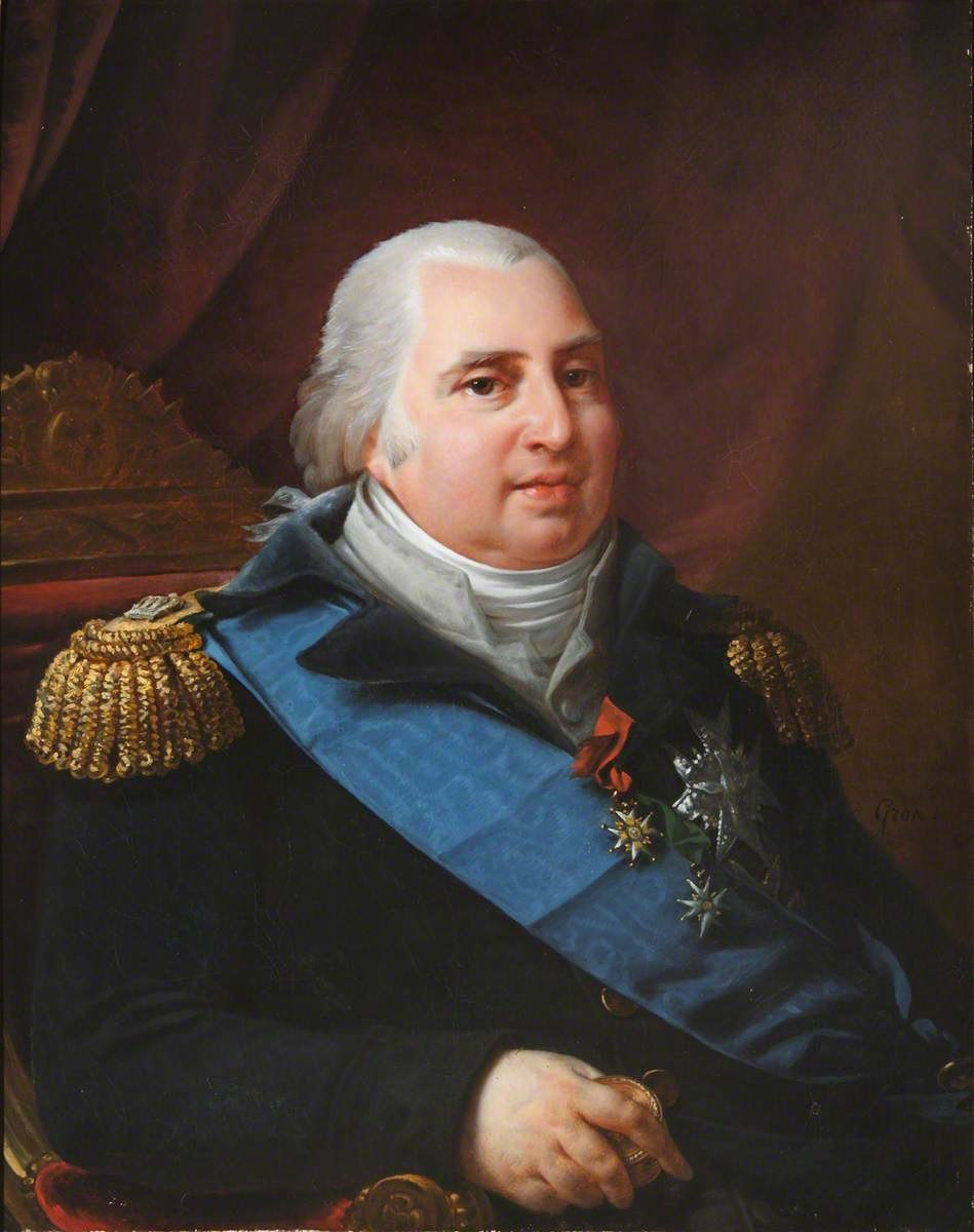 Louis XVIII portrait Hartwell House