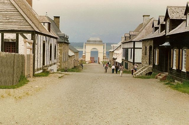 """Louisbourg 22"" by Charny - Own work. Licensed under Creative Commons Attribution-Share Alike 3.0 via Wikimedia Commons - http://commons.wikimedia.org/wiki/File:Louisbourg_22.jpg#mediaviewer/File:Louisbourg_22.jpg"