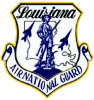 Louisiana Air National Guard - Image: Louisiana Air National Guard logo