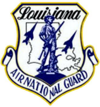 Louisiana Air National Guard - Image: Louisiana Air National Guard logo