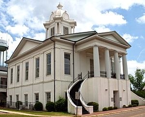 Lowndes County Courthouse in Hayneville