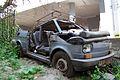 """Lublin - zdelezowany """"Maluch"""" Fiat 126p (04) - DSC00408 v1.jpg"""