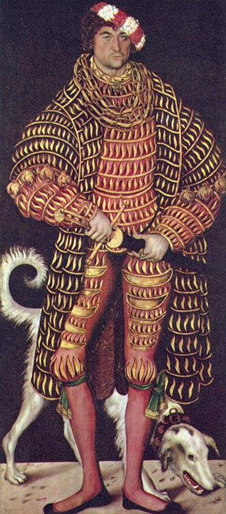Henry IV, Duke of Saxony - Portrait of Henry IV by Lucas Cranach the Elder.