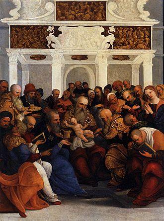 Ludovico Mazzolino - Image: Ludovico Mazzolino Circumcision WGA14715