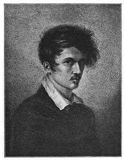 Ludwig Emil Grimm, selfportrait from 1813
