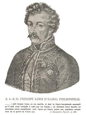 Siege of Gaeta (1806) - Prince Louis of Hesse