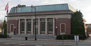 United States Post Office (Lumberton, North Carolina) - Former US Post Office-Lumberton, December 2014
